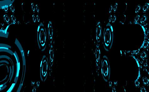 蓝色等离子激光2视频素材