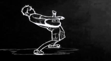 线条人物疯狂吉他酒吧夜店视频素材