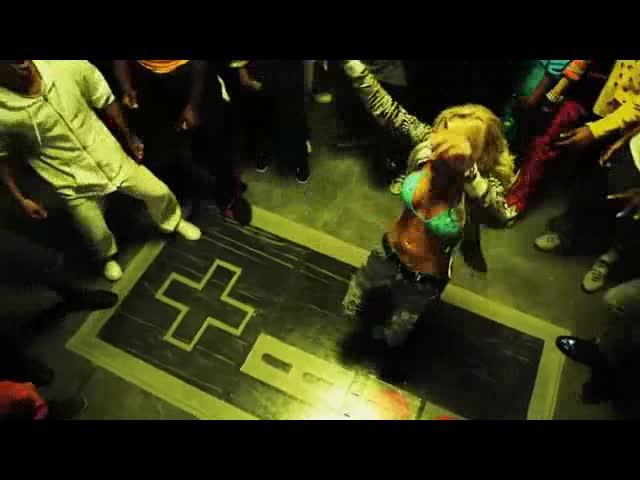 酒吧vj 街头潮舞 视频素材