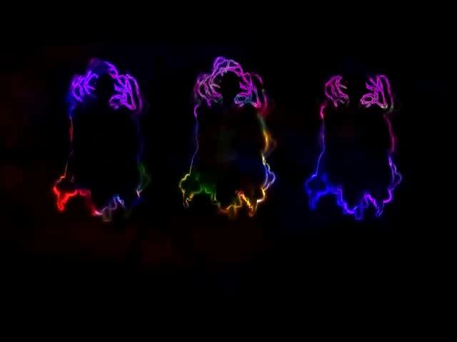 酒吧vj 舞蹈光影烟火 视频素材