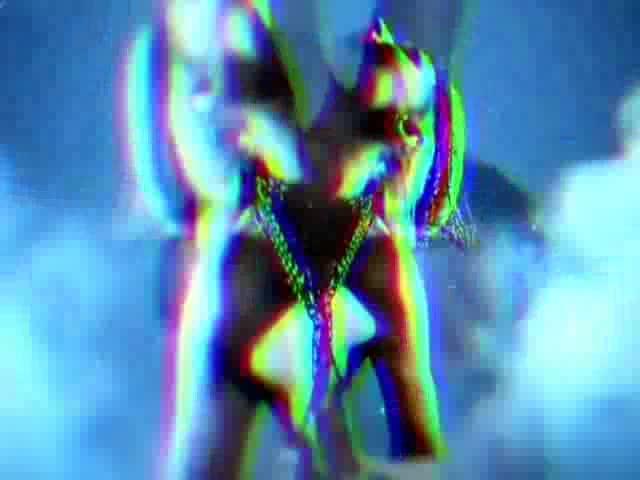 酒吧vj 性感跳舞 视频素材