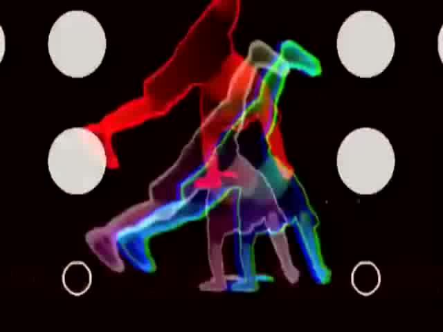酒吧vj 时尚街舞2 视频素材