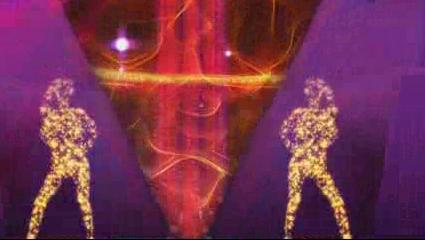 酒吧VJ 超动感粒子人物演出舞台背景 视频素材