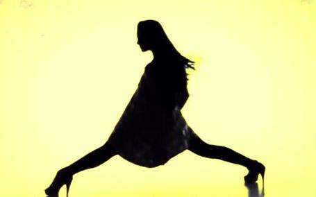 酒吧VJ 女影舞蹈 视频素材