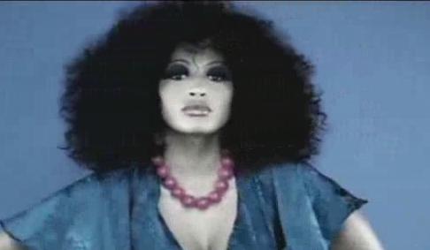 酒吧VJ 美丽女脸 视频素材
