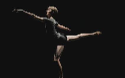 酒吧VJ 芭蕾节奏女孩 视频素材
