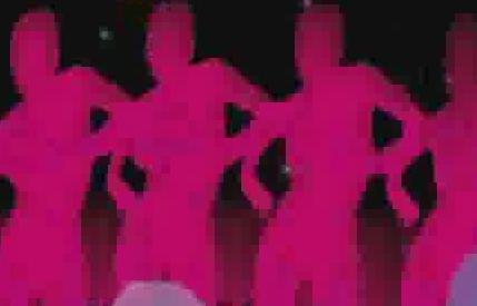 酒吧VJ  高潮气氛 视频素材