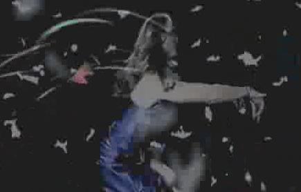 酒吧VJ 女舞飘浮 视频素材