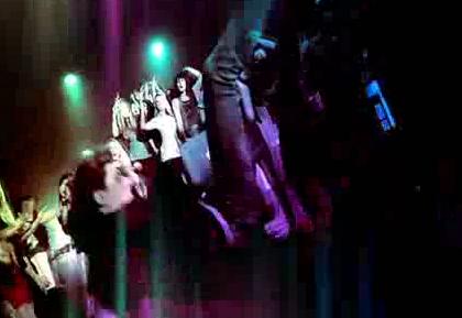 酒吧VJ  群体街舞 视频素材