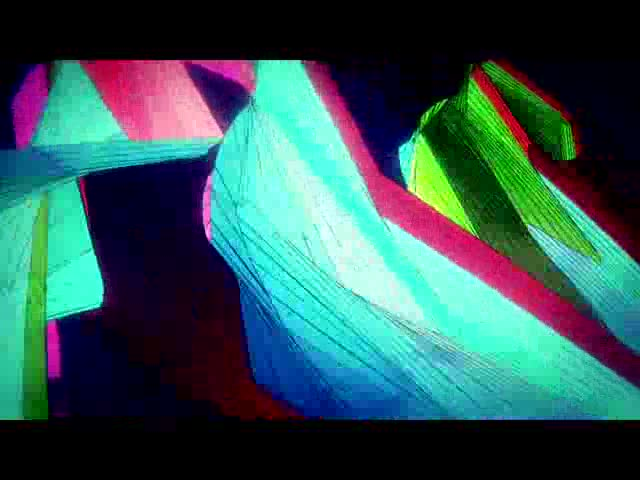 3D色块视频素材
