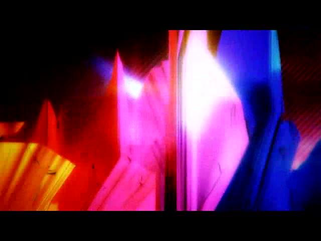 彩色抽象立体视频素材