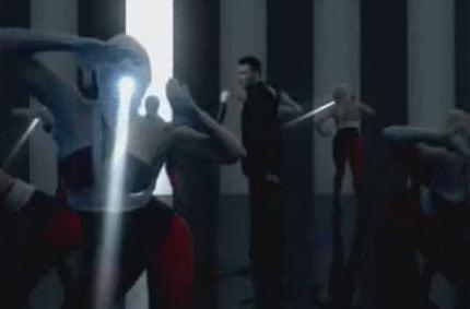 酒吧VJ 震撼荧光舞 视频素材