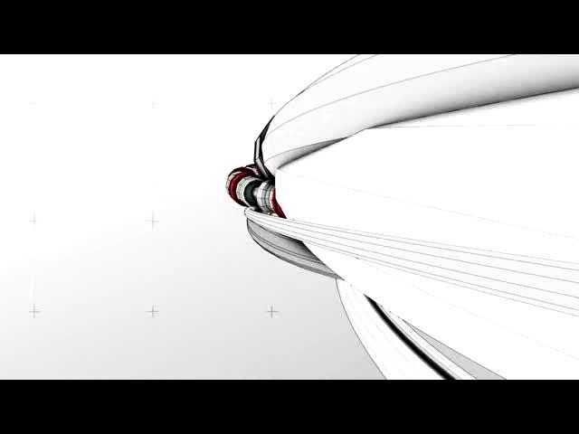 无缝循环3D环绕视频素材