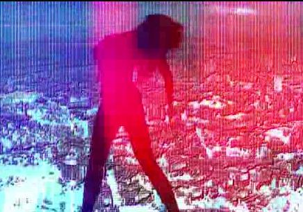 酒吧vj LED炫光女 视频素材