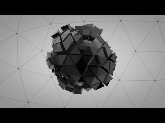 三维伸展动感视频素材