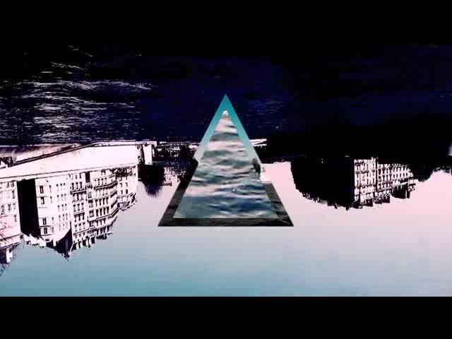3D几何风景视频素材