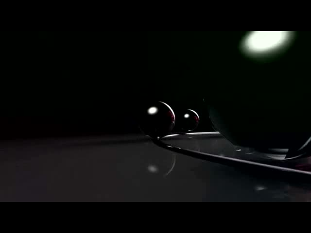3D电子球节奏视频素材