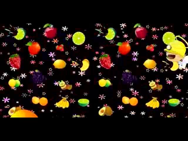 3D卡通水果系列视频素材