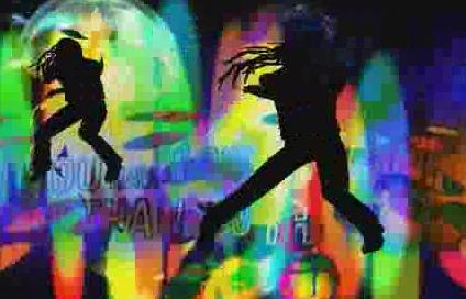 酒吧vj  舞蹈动感 视频素材