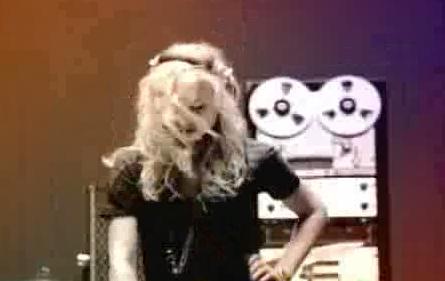 酒吧vj 女DJ开场 视频素材