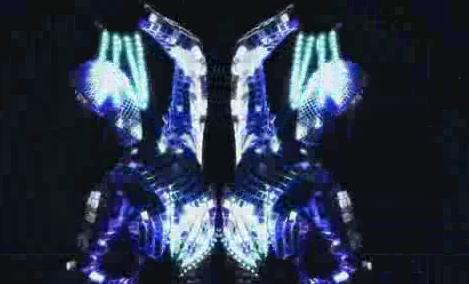 酒吧vj 舞蹈节奏金属 视频素材