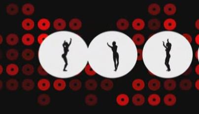 酒吧vj 光效舞蹈 视频素材
