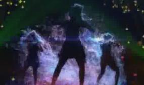 酒吧vj 酷炫舞蹈灯光幻影 视频素材