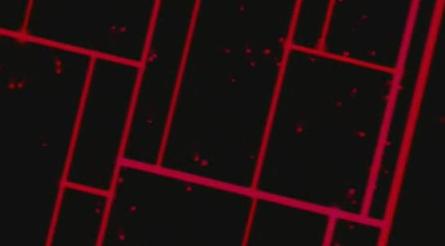 酒吧vj 前场红色线条 视频素材