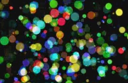 酒吧vj 彩色闪烁光斑 视频素材