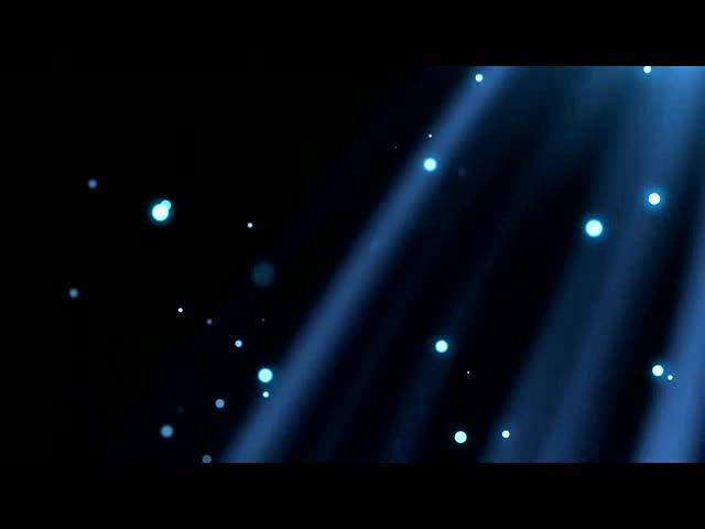 唯美粒子光效背景视频素材