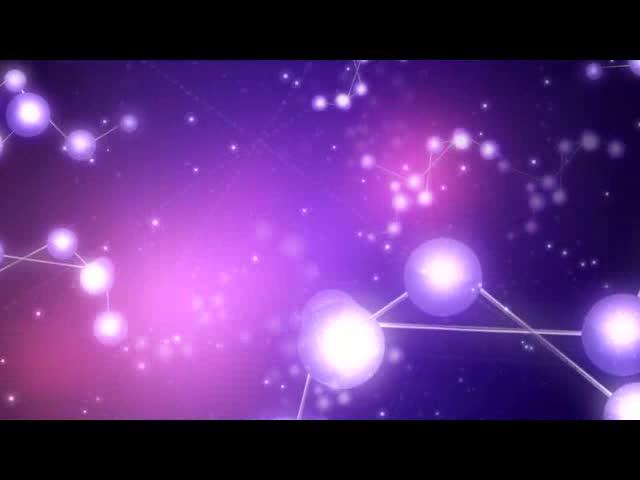 科技粒子背景视频素材