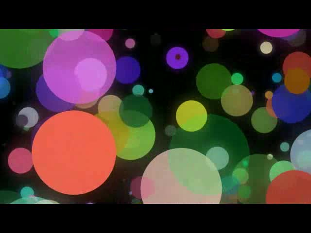 唯美圆点抒情彩色酒吧VJ视频素材