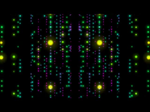粒子唯美彩色酒吧VJ视频素材