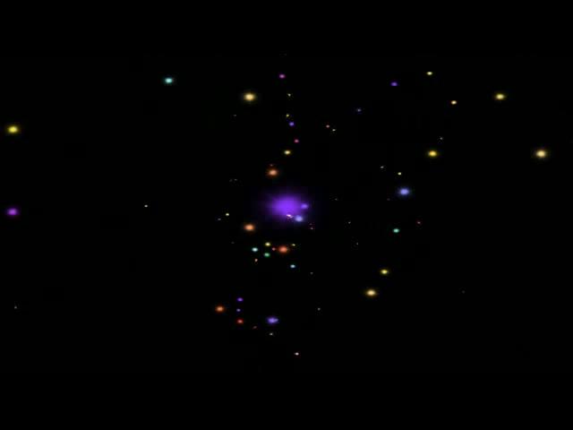 星光粒子酒吧VJ视频素材