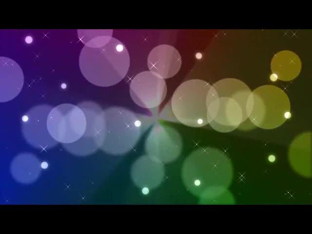 唯美彩色圈背景视频素材