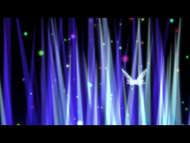 唯美蝴蝶光束酒吧VJ视频素材