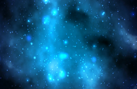 蓝调粒子背景视频素材