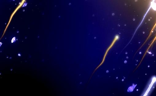 钻石粒子背景视频素材