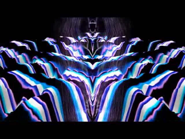 酒吧vj 迷幻眼睛 视频素材