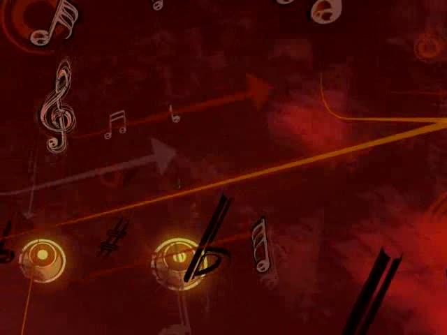 酒吧vj 音乐的力量 视频素材