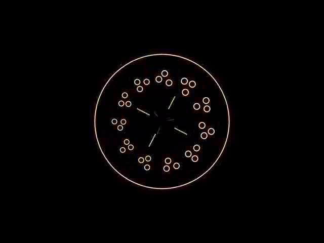 酒吧vj 抽象图案光束 视频素材