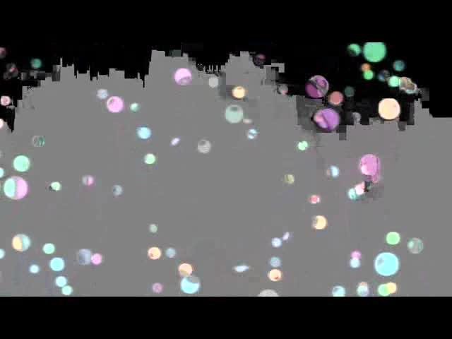 酒吧vj 动感小光球 视频素材
