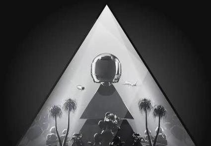 酒吧vj 三角玩具黑白 视频素材