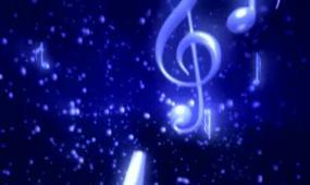 唯美蓝色星空下视频素材
