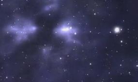 酒吧vj 宇宙星空 视频素材