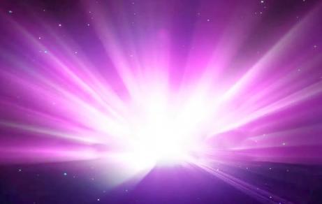 唯美粉红色光线视频素材