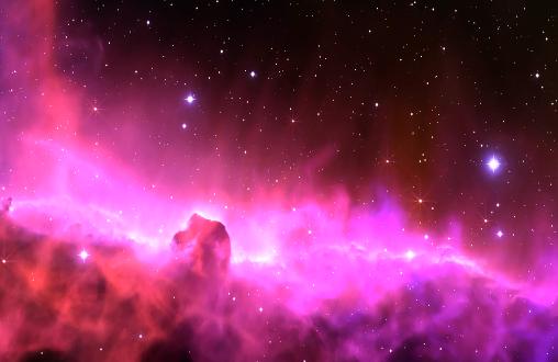 唯美星空LED舞台背景视频素材