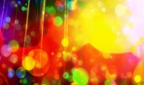 绚丽七彩背景LED舞台背景视频素材