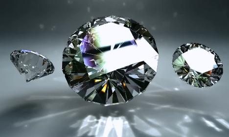 唯美钻石绚丽LED视频素材