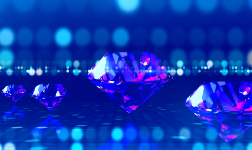 婚庆婚礼双排钻石LED视频素材